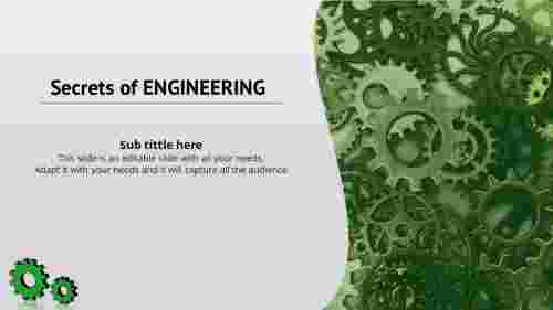 engineering ppt template-Title Slide