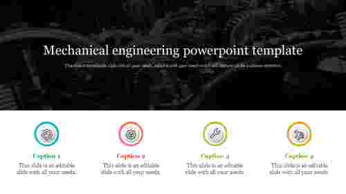 Mechanical Engineering Powerpoint Template Design