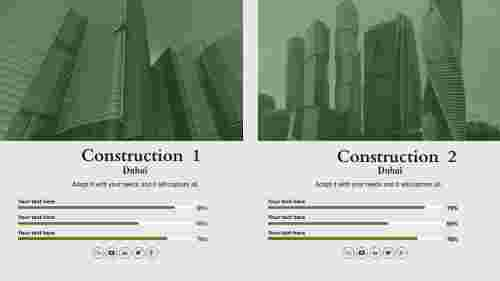 construction company powerpoint presen