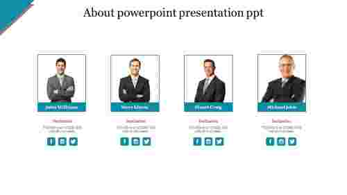 Simple about powerpoint presentation ppt