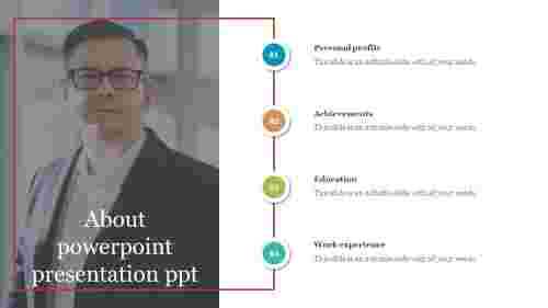 about powerpoint presentation ppt - About me