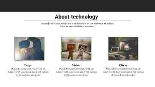 about us powerpoint template