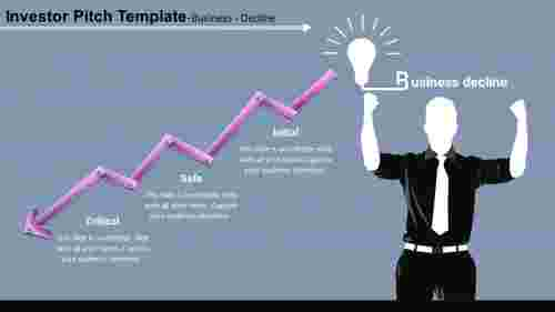 investor pitch template-business-decline-3-purple