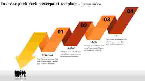 Decline Investor Pitch Deck Powerpoint Template