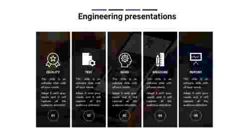 Engineering PowerPoint Template For Engineering Presentations