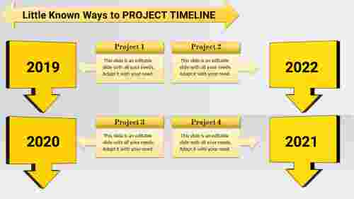 connected project plan and timeline