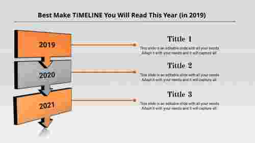 Patterned project timeline powerpoint