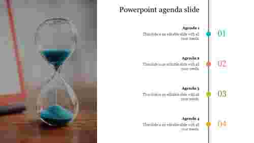 Editable powerpoint agenda slide template