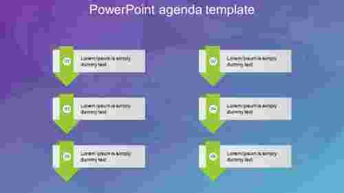 powerpoint agenda template design