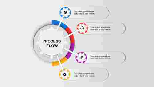 TheinfographicprocessflowPPTtemplate