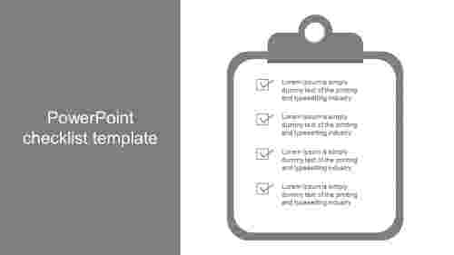 powerpoint checklist template presentation