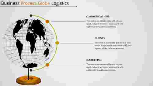 Business Process PowerPoint Template – Globe Logistics