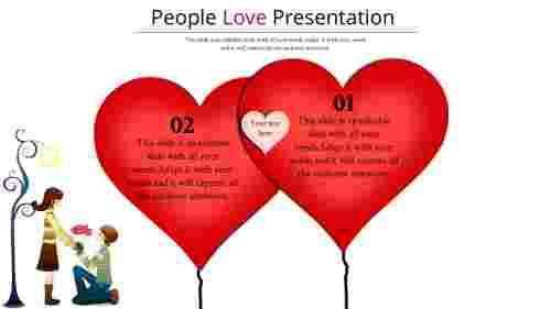 love powerpoint background