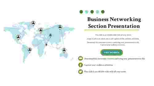 BusinessModelPresentationTemplateForBusinessNetworkingSection