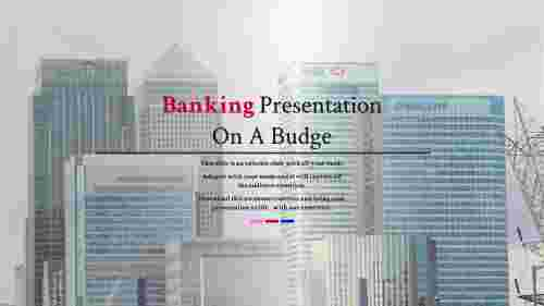 Overview of bank presentation template