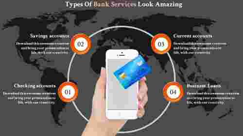 Services of bank presentation templates
