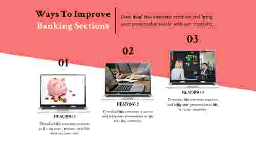 banking powerpoint templates-banking-sections-3-multi color