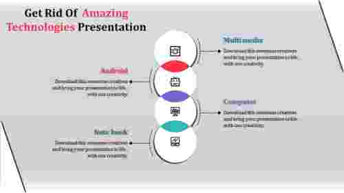 Technology PowerPoint template series model