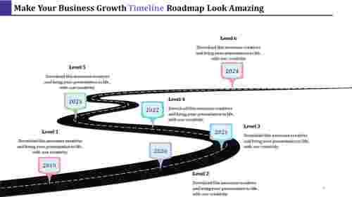 RoadMapTimelinepowerpointmodel