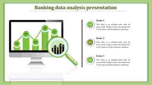 data analytics PPT template-bar charts
