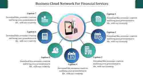 SlideEgg | cloud networking ppt-business cloud network for finance-7