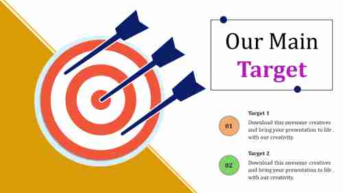 Target Template Powerpoint Model