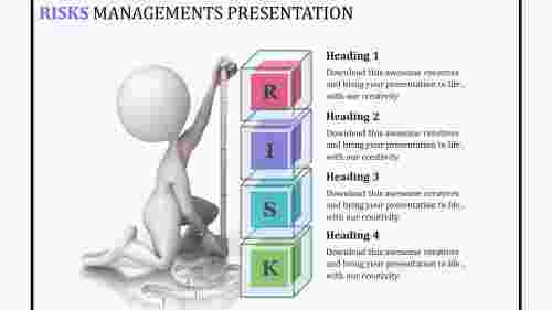 RiskmanagementPPTpresentation-LayeredVertical