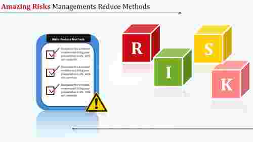 risk management PPT template with check list