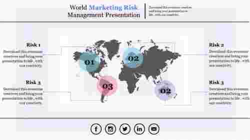 riskmanagementpowerpointpresentation-worldmapmodel