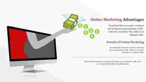 online marketing templates-online marketing advantages