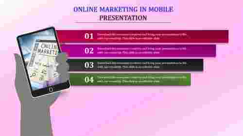 Online%20Marketing%20PPT%20Download%20With%20Mobile%20Phone