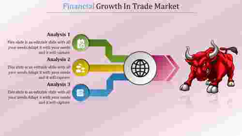 Financial%20Report%20Presentation%20Template%20With%20Charging%20Bull