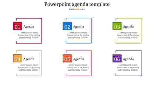 Powerpoint agenda templates Design
