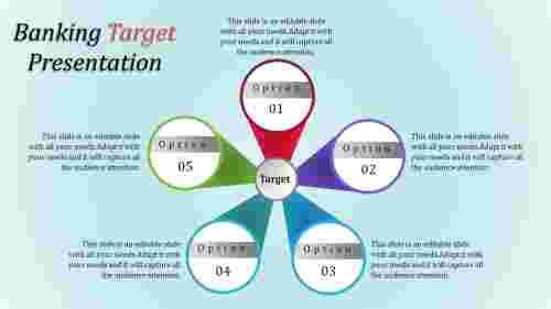 Goals of target template PowerPoint