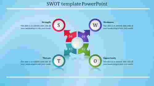 Inspectable SWOT Template PowerPoint