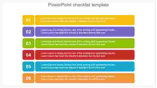 powerpoint checklist template design