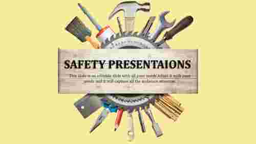 Portfolio safety powerpiont presentation template