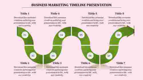 functional timeline presentation powerpoint