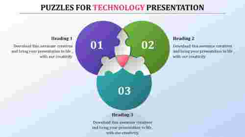 PowerPoint puzzle template strategy