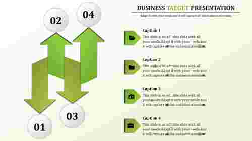 Business Target Powerpoint Templates-Four principle