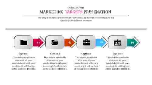 company marketing target ppt templates
