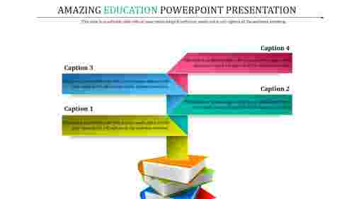 education powerpoint templates with books