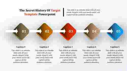 Predictive timeline powerpoint template