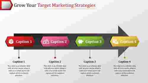 The Best Target Marketing Strategies PowerPoint Model