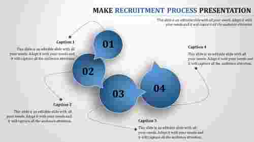 recruitment process ppt-Make Recruitment Process presentation