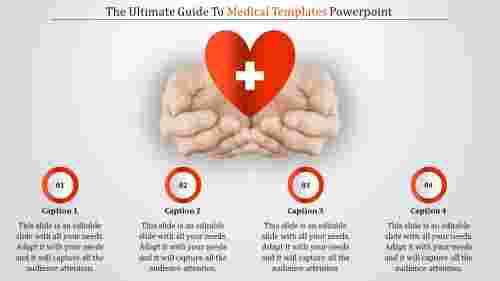Medicaltemplatespowerpointwithheartdiagram