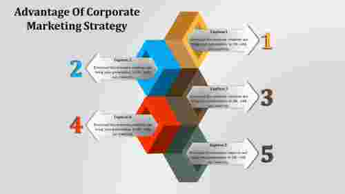 Creative Corporate Marketing Strategy PPT