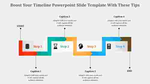 adaptive timeline powerpoint slide template