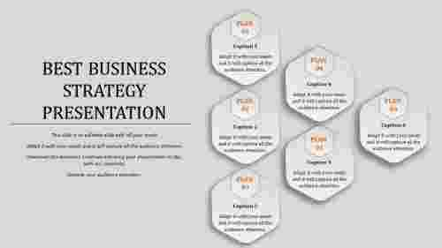 Attractive business strategy template