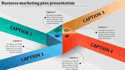 Business marketing plan powerpoint presentation-Cube diagram